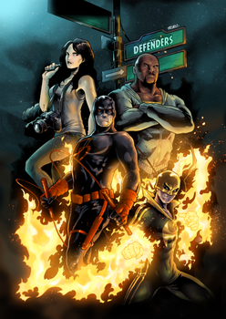 The Defenders - Comic Cover