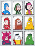 Family Guy Sketch Cards D