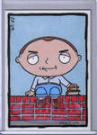 Stewie as Karl from Slingblade
