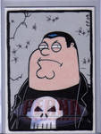 Peter as The Punisher