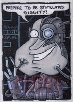 Quagmire as a Borg by ElainePerna