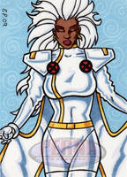 Storm Sketch Card by ElainePerna