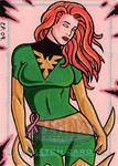 Phoenix Sketch Card 2