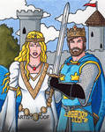 Guinevere King Arthur AP by ElainePerna
