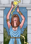 Circe Sketch Card - Classic Mythology