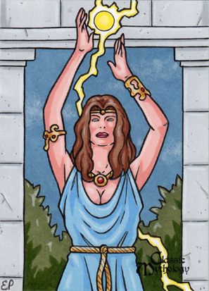 Circe Sketch Card - Classic Mythology