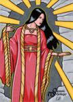 Amaterasu Sketch Card - Classic Mythology