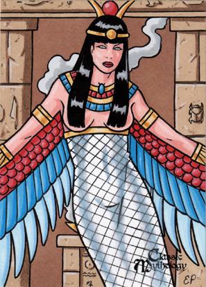 Isis Sketch Card - Classic Mythology