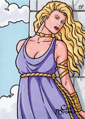 Aphrodite Sketch Card 2 - Classic Mythology