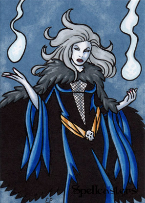 Spellcasters Sketch Card 4