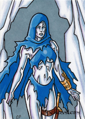 Spellcasters Sketch Card 14