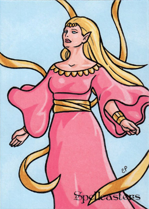 Spellcasters Sketch Card 20
