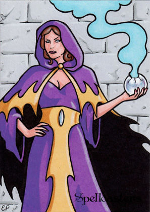 Spellcasters Sketch Card 21