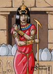 Serket Sketch Card - Classic Mythology II