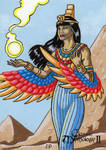 Isis Sketch Card - Classic Mythology II