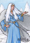 Skadi Sketch Card - Classic Mythology II