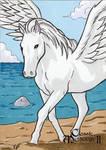 Pegasus Sketch Card - Classic Mythology II