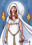 Hecate Sketch Card - Classic Mythology II