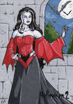 Hallowe'en 2 - Sketch Card 2 by ElainePerna