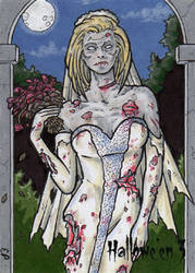 Hallowe'en 3 - Sketch Card 3 by ElainePerna