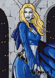Hallowe'en 3 - Sketch Card 7 by ElainePerna