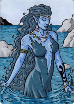 Elementals - Metal Sketch Card
