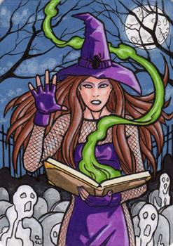 Witchcraft - Artist Proof Sketch Card