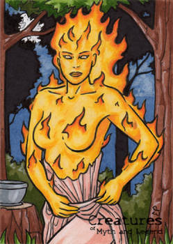 Soucouyant - Sketch Card