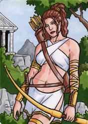 Artemis - Classic Mythology III by ElainePerna