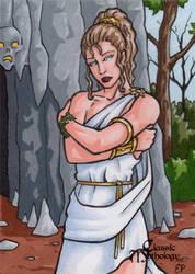 Persephone - Classic Mythology by ElainePerna
