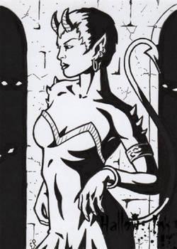 Hallow-Ink - Sketch Card 2