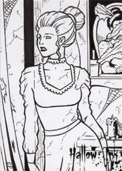 Hallow-Ink - Sketch Card 10