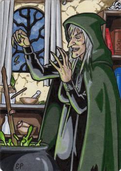 Witchcraft - Artist Proof Sketch Card 2