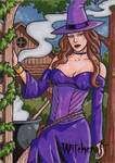 Witchcraft - AP Sketch Card 3 by ElainePerna