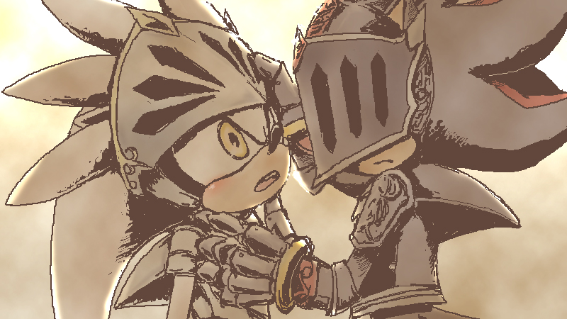 Sonic And The Black Knight Sir Galahad