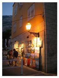 small cosy Croatian streets