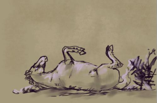 ..: | Little Sketch | :.. by FluffyPinkHorses