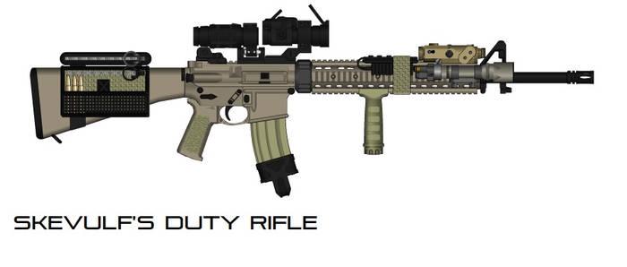 Skevulf's Duty Rifle-One Take