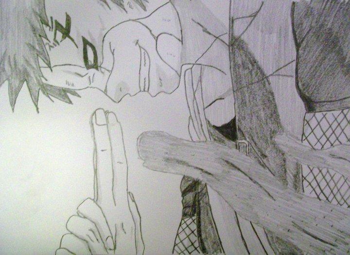 Evil Gaara by MrHaussman