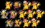 Pikachu sprites