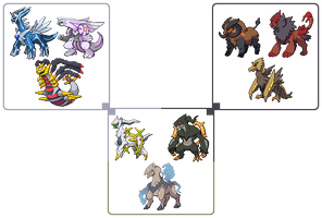 Holy Trinity of Pokemon