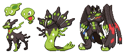 Zygarde forms by leparagon
