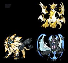 Necrozma forms by leparagon