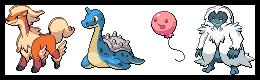 Gen1 beta Pokemon (WIP) by leparagon