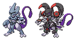 Armored Mewtwo sprite