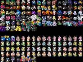 Gen 8 Pokemon sprites
