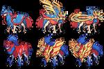 Sword/Shield Zacian and Zamazenta sprites