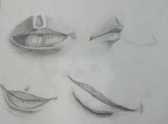 Mouths practice by AnnaRose16