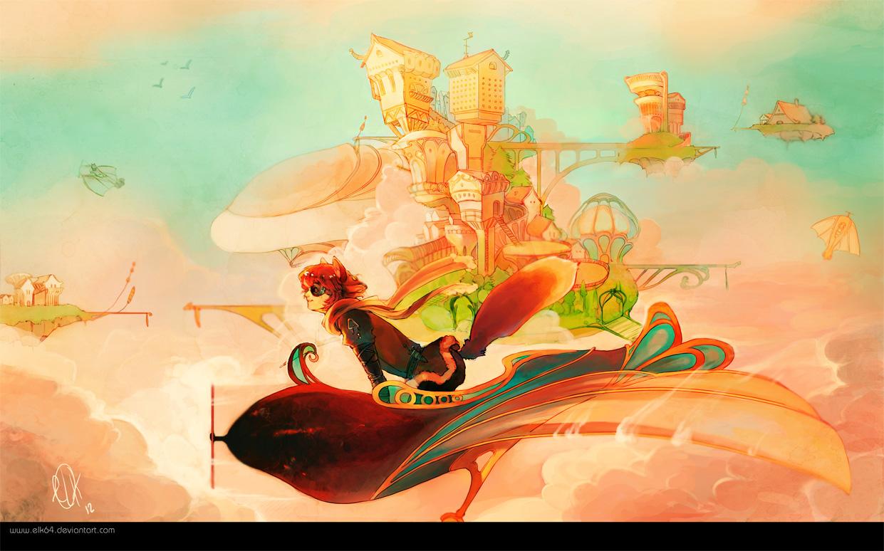 Skyrider by ELK64