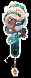 Haku bookmark by ELK64